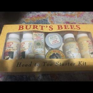 Other - Burt's bees head to toe starter kit